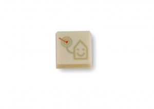 Logobonbons wit 4k
